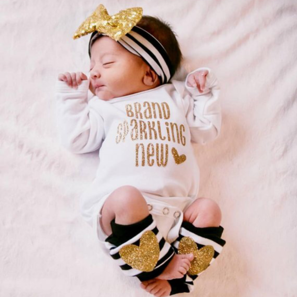 9c0e3ecf66db3 11 MOST ADORABLE BABY GIRL COMING HOME OUTFITS - Chaylor & Mads