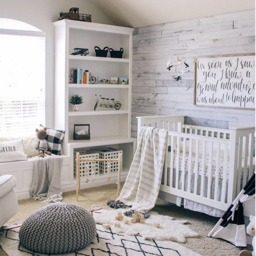 10 Gender Neutral Nursery Decorating Ideas: 7 Gender Neutral Nursery Inspirations
