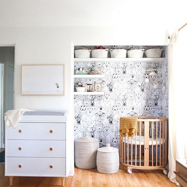 Small Nursery Idea 1 Closet