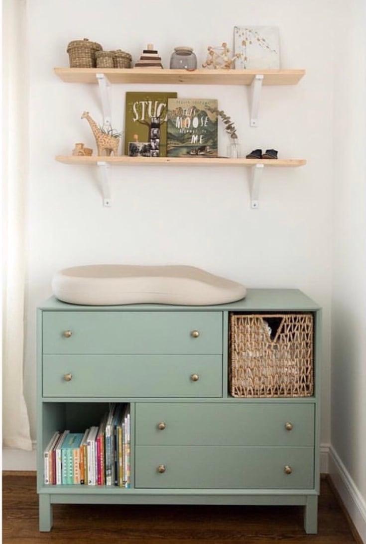 Idea 12 Make Your Furniture Do Double Duty Small Nursery