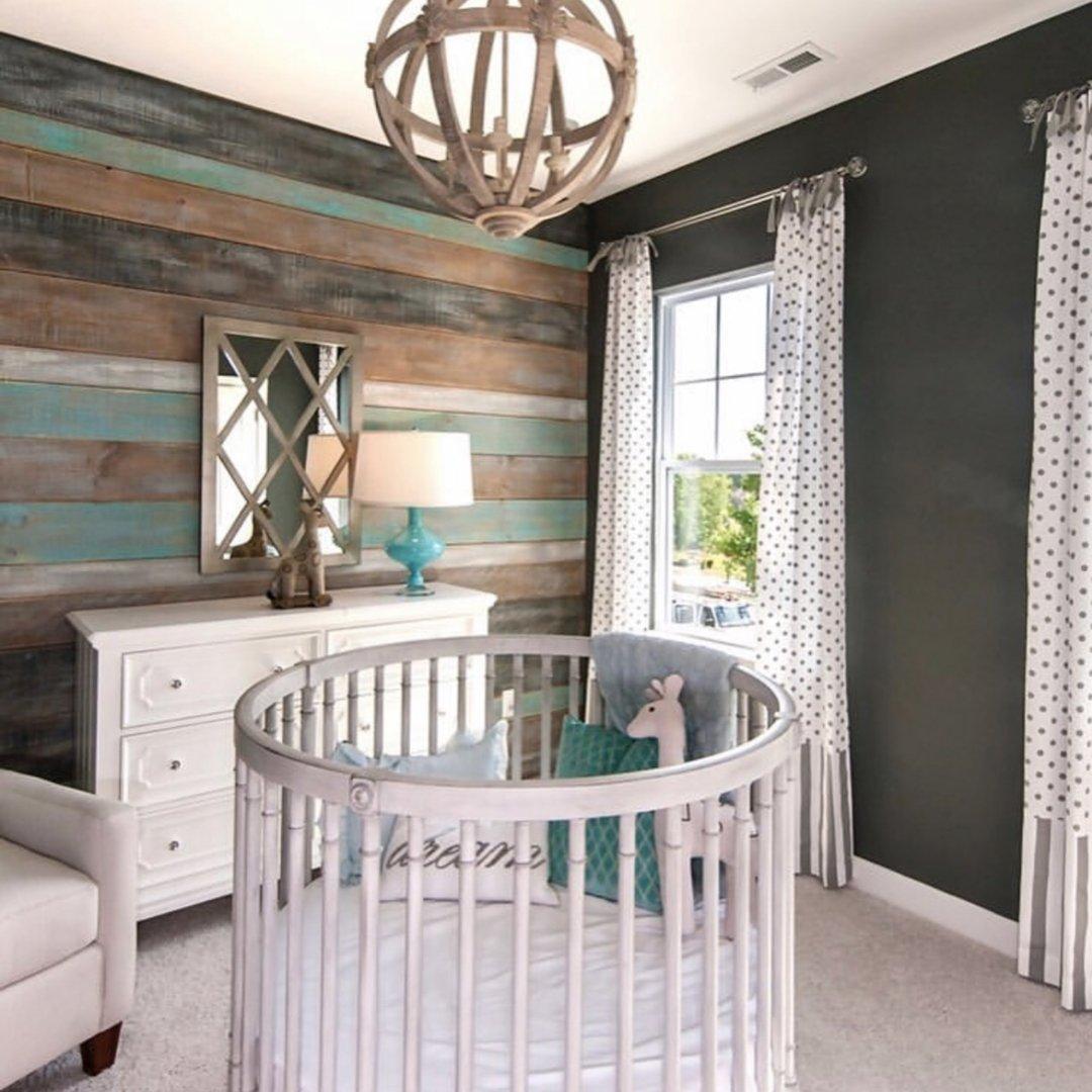 17 Round Crib Nursery Inspirations