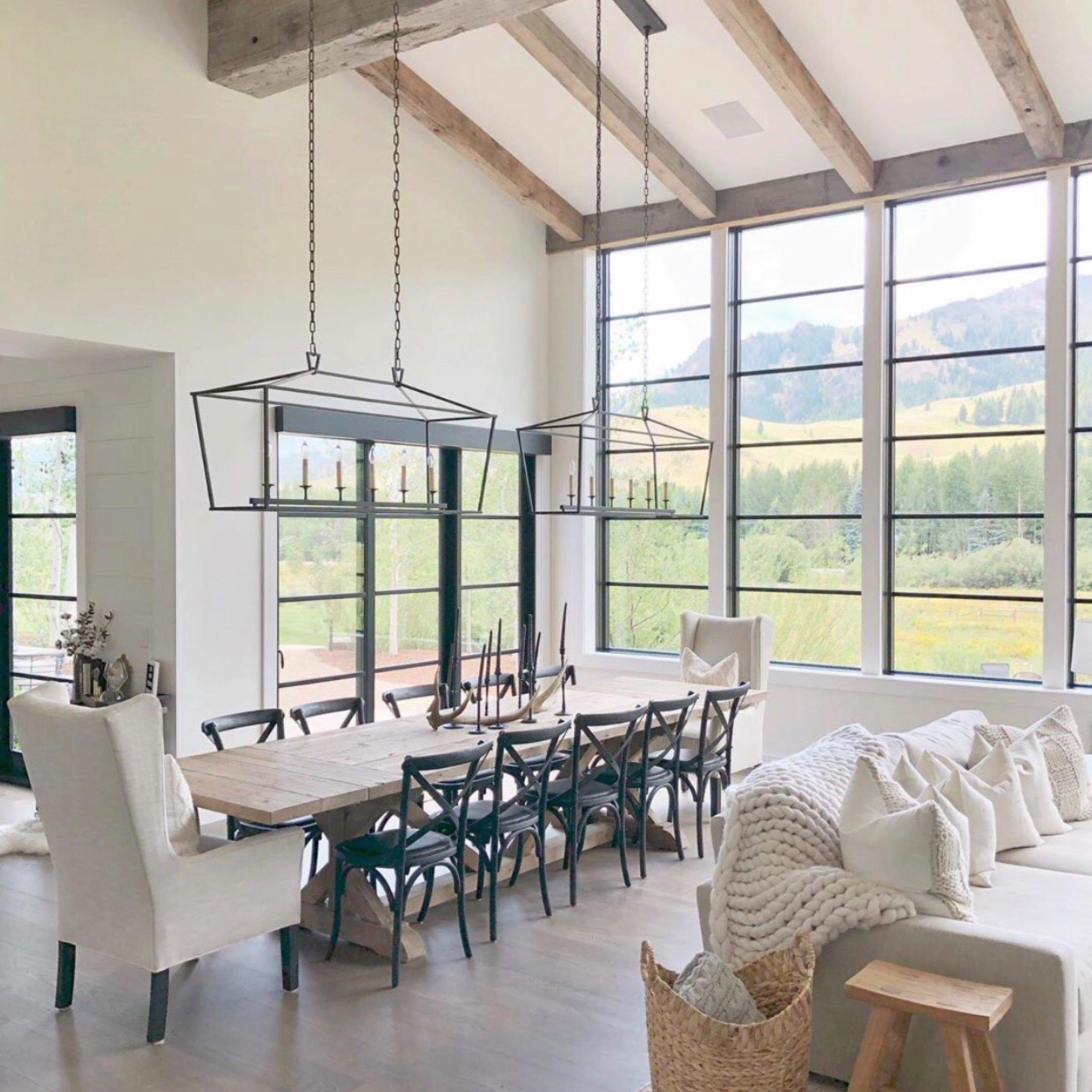 20 Gorgeous Farmhouse Dining Room, Modern Farmhouse Dining Room