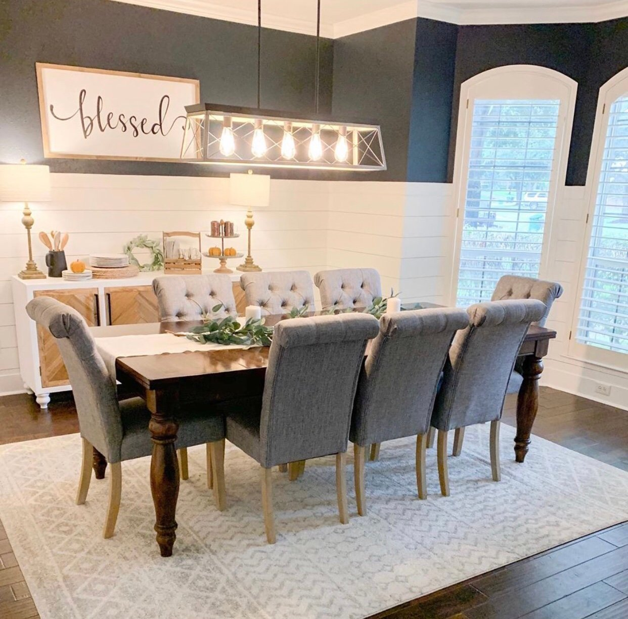 20 Gorgeous Farmhouse Dining Room Inspirations | Chaylor ...