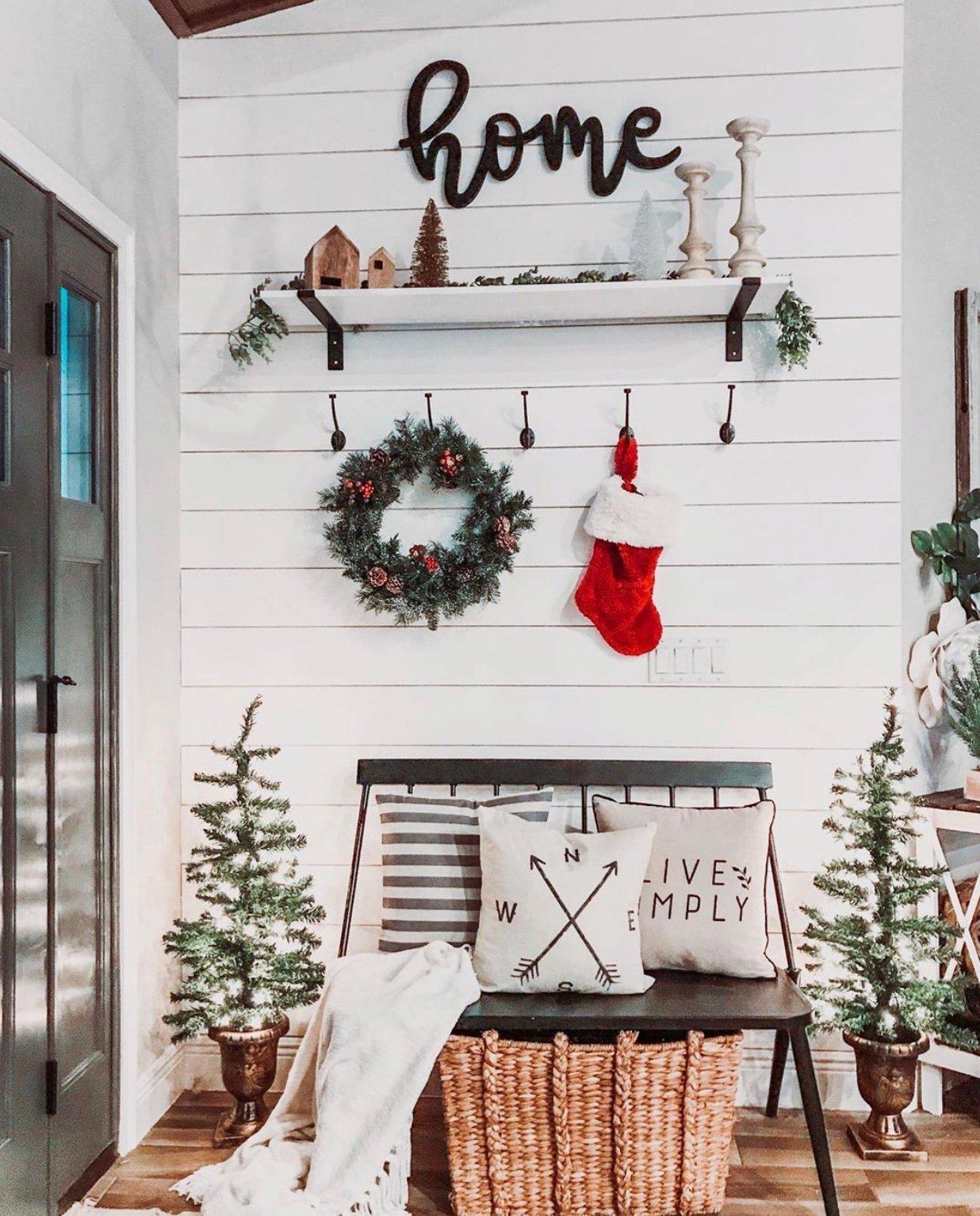 christmas decoration home dekorasi natal rumah
