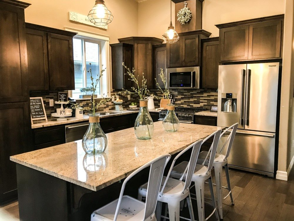 My Farmhouse Kitchen Makeover On A Budget Chaylor Mads